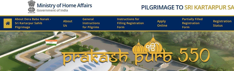 kartarpur sahib registration