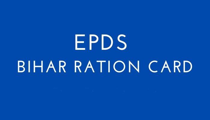 EPDS Bihar