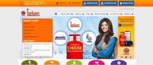 indane gas booking online