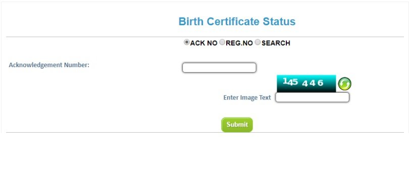 up birth certificate