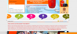 indane online booking