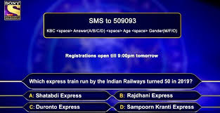 KBC Registration Question