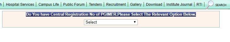 pgi chandigarh online registration