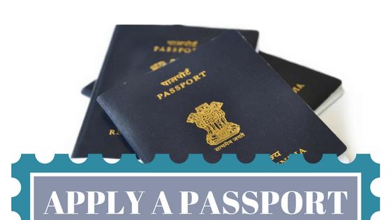 ऑनलाइन पासपोर्ट अप्लाई