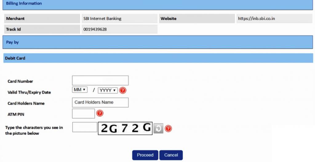 sbi net banking activate