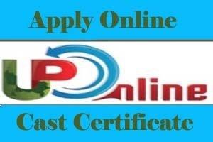 Online caste certificate up