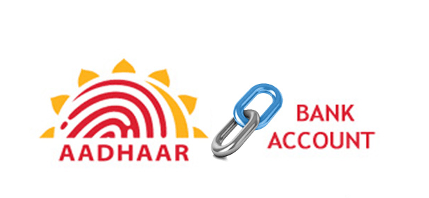link aadhar to bank account