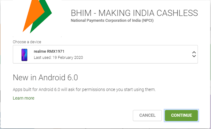 How to use BHIM App