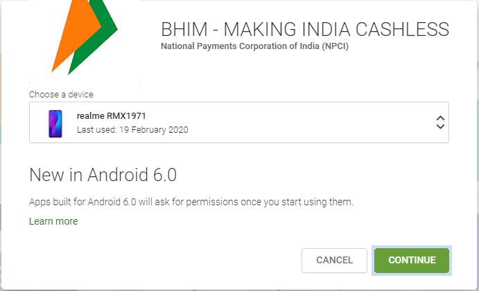 How to use BHIM App