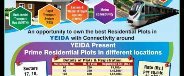 Yamuna Expressway Industrial Development Scheme (YEIDA) 2020