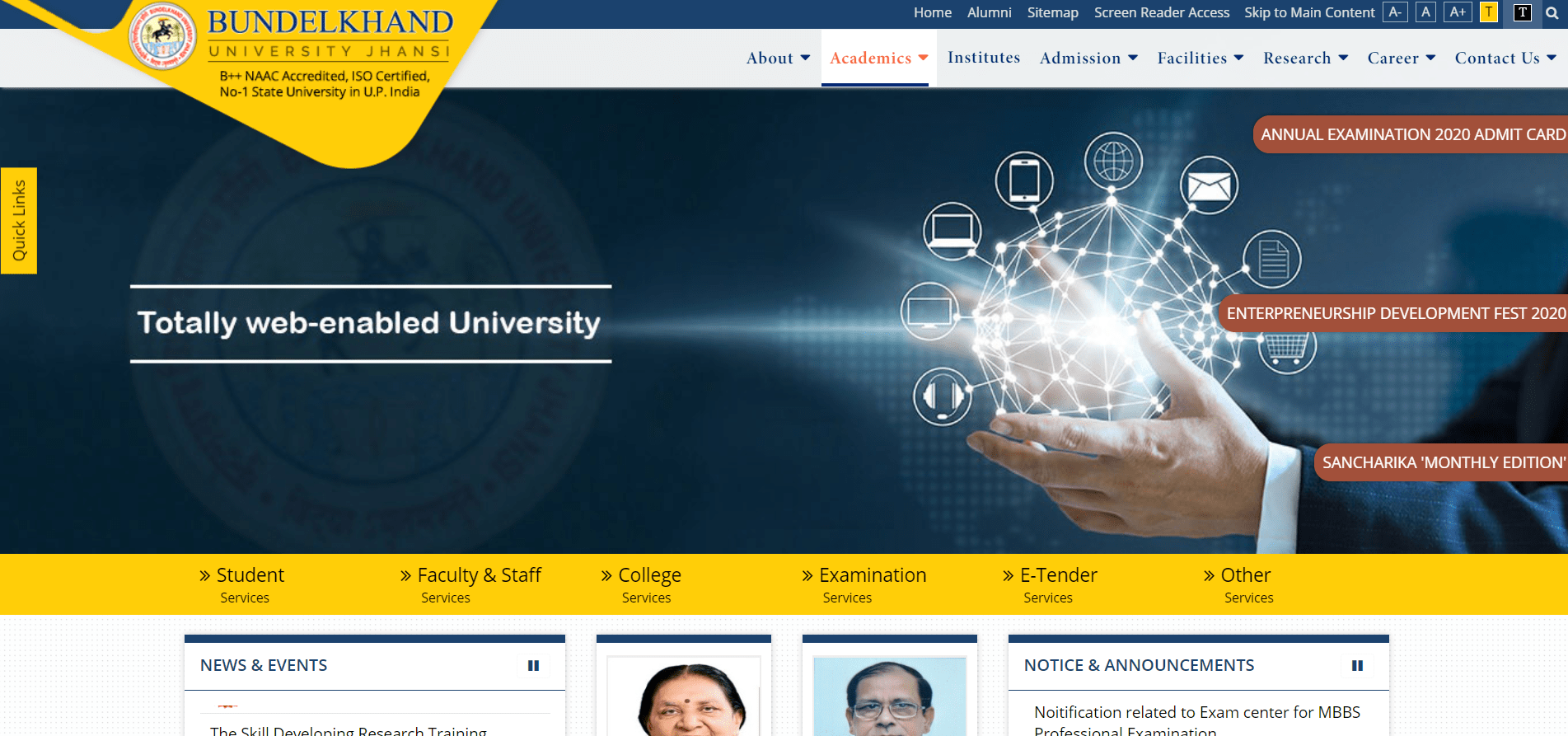 www.bujhansi.ac.in