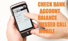 sbi missed call balance enquiry
