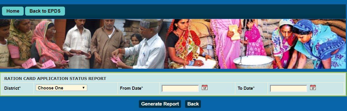 Jammu & Kashmir Ration Card