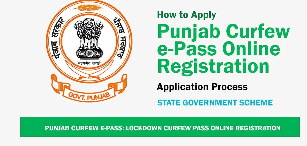 Punjab Curfew E-Pass for COVID-19