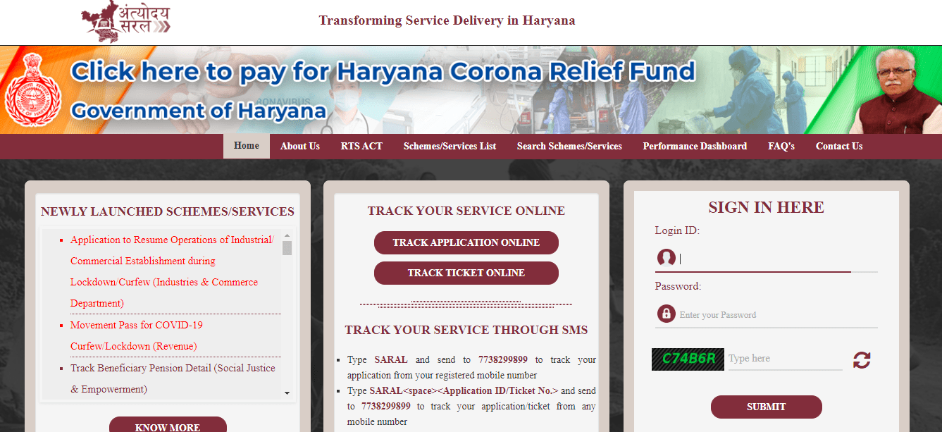 https://saralharyana.gov.in/