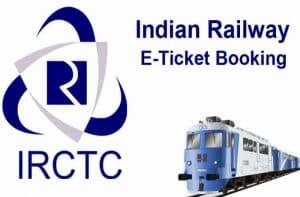 IRCTC train booking