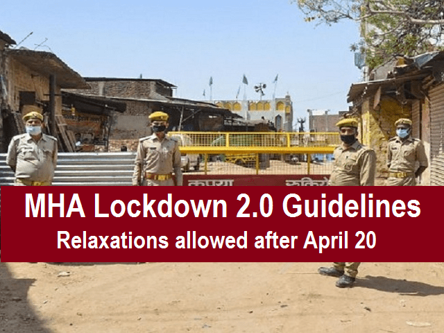 lockdown 2.0 guidelines