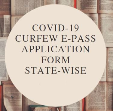 State wise curfew epass