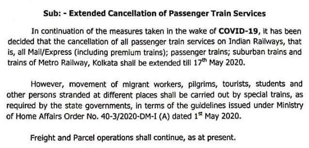 Shramik special train list