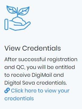 CSC Credentials