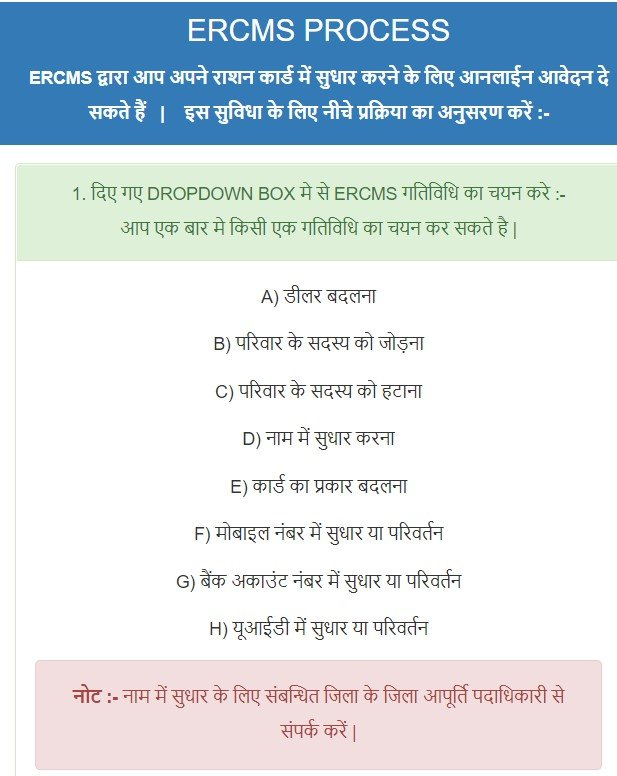 jharkhand ration correction