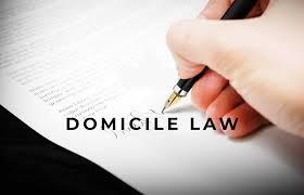 Domicile Law