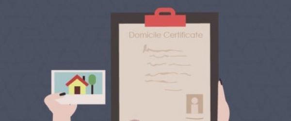 Domicile Certificate: Registration Process & Documents