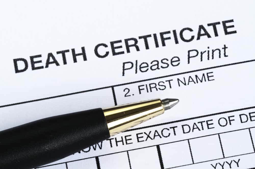 Death Certificate Registration