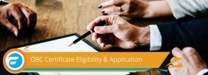 OBC Certificate Registration