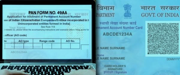 PAN Card Application Form 49AA: Modules & Framework