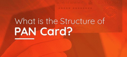 structure of a PAN Card
