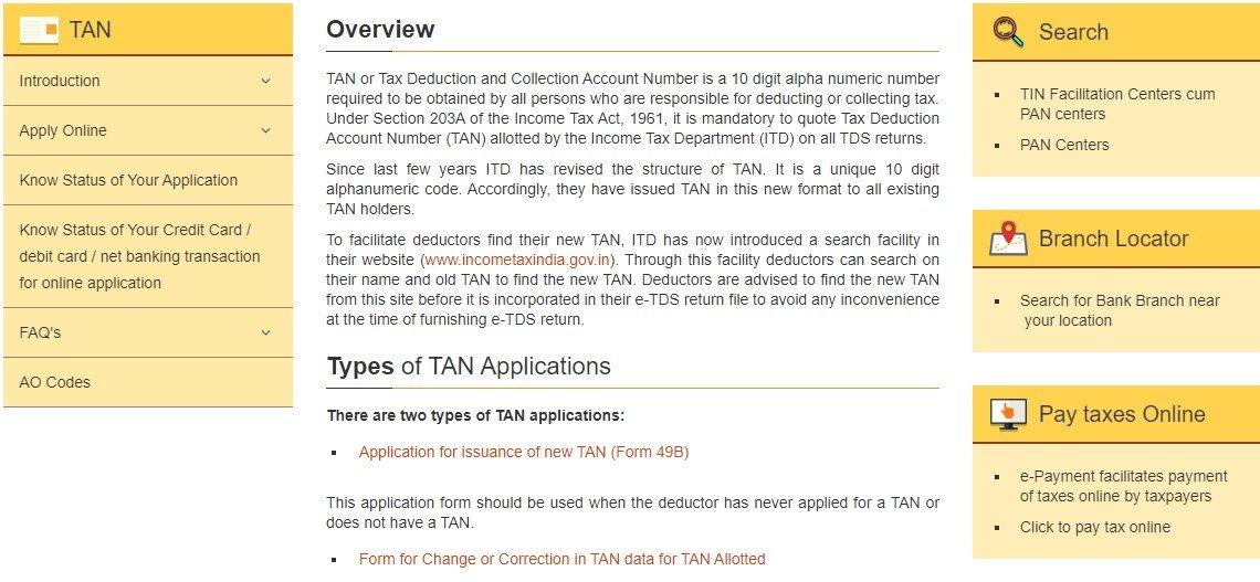 TAN Services