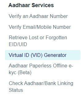 Virtual ID