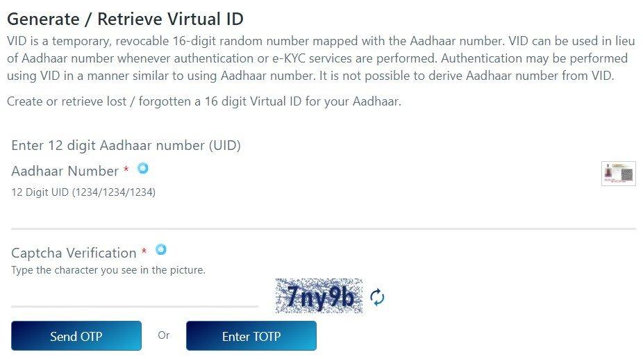 Virtual ID Generator