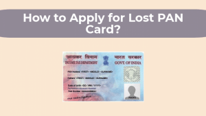 Lost PAN Card