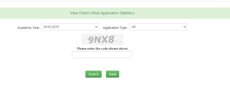 Medhavi Chhatra District Application Status