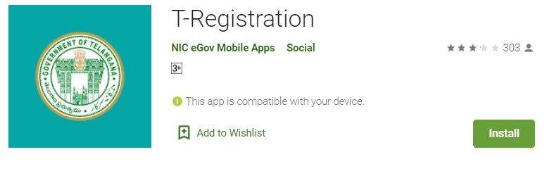 T-Registration Mobile App