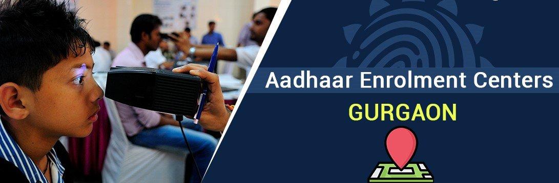 Aadhaar Card Enrolment Center in Gurgaon