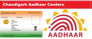 Chandigarh UIDAI Aadhaar Card