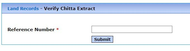 Patta Certificate Validation