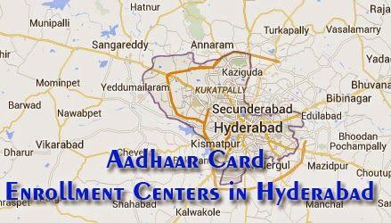 Aadhaar Card Center in Hyderabad