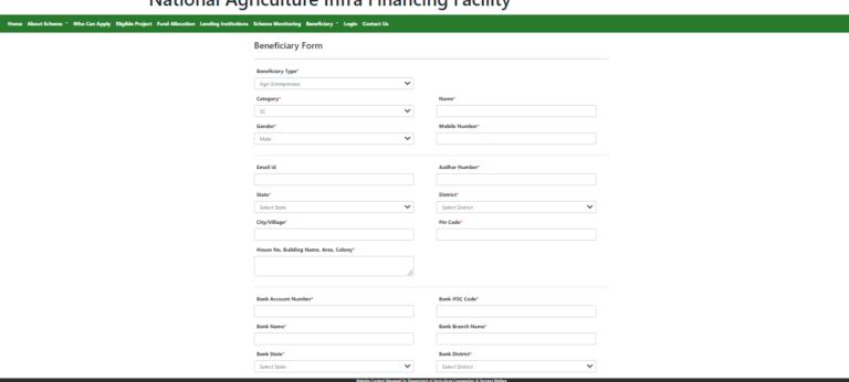 Krishi Udan Yojana Application Form