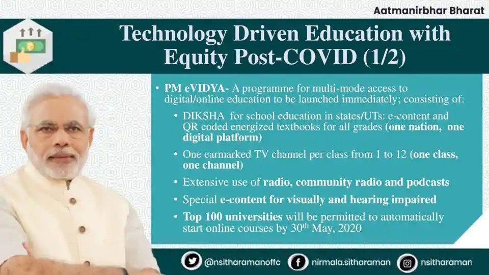 PM eVIDYA Program