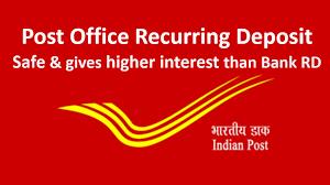 Post Office Recurring Deposit Scheme