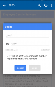 EPF on the UMANG App
