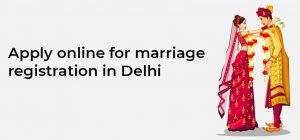 Delhi Marriage Certificate