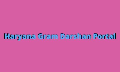 Haryana Gram Darshan Portal