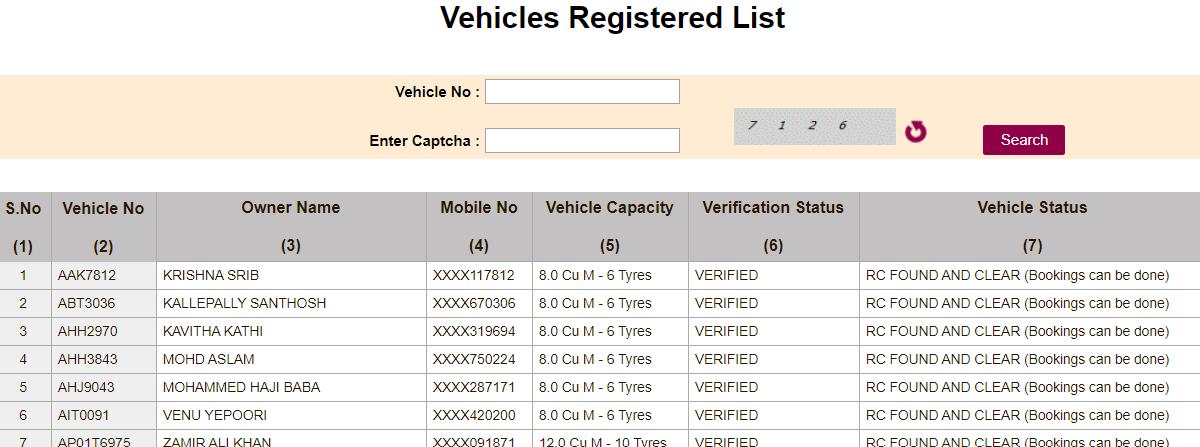 SSMMS Vehicle Registration Process