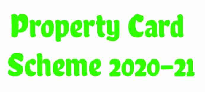 Property Card Application Form