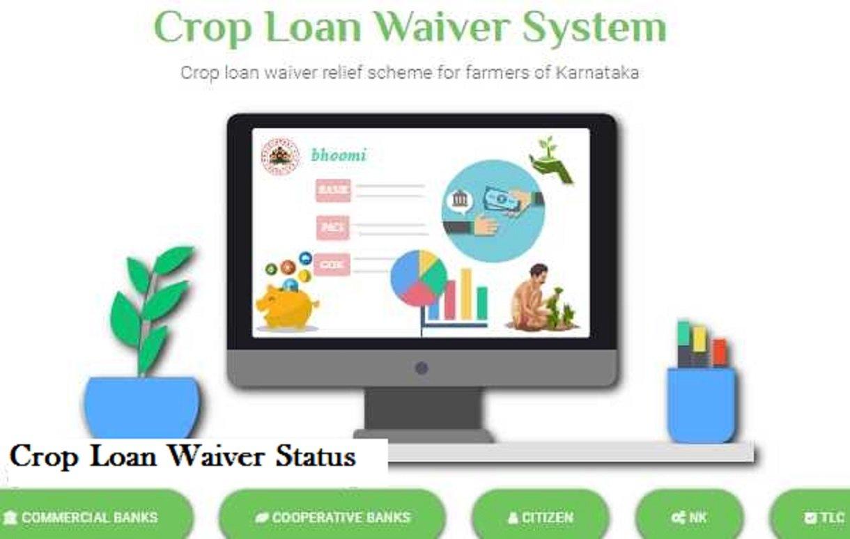 Karnataka Loan Waiver Status Scheme